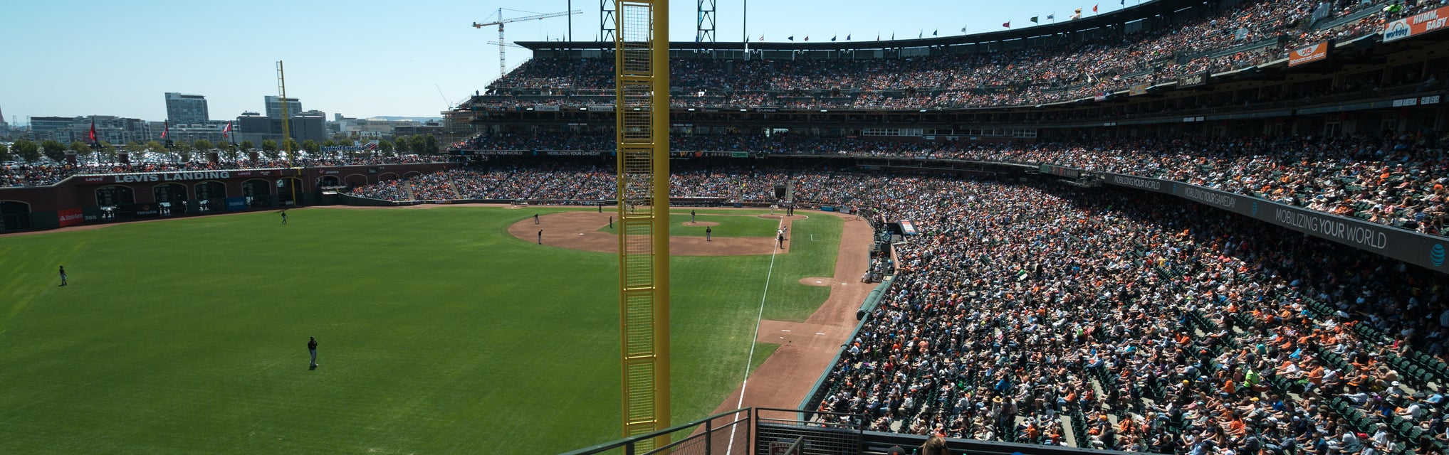 Seat view from Club Level Left Field