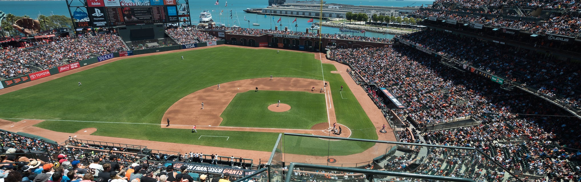 Seat view from View Reserve Infield