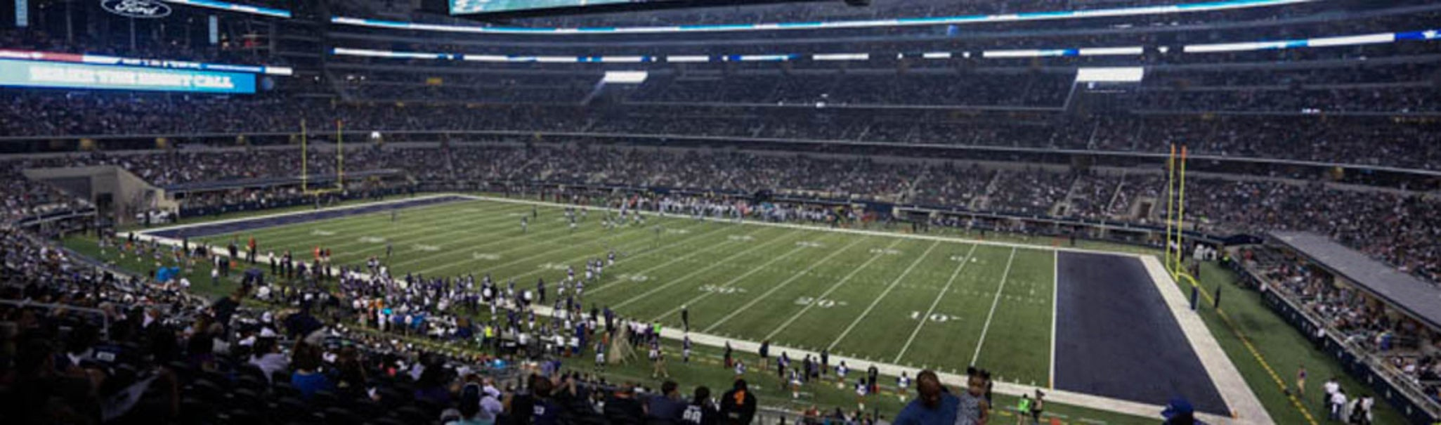 Seat view from Club Main