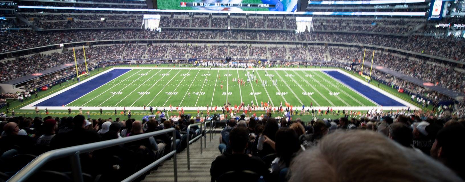 Seat view from Club Mezzanine