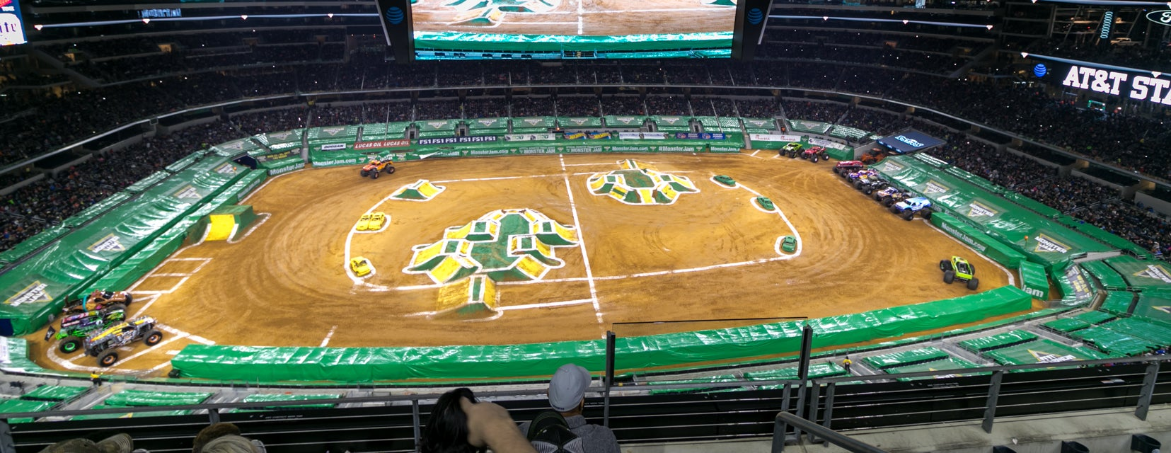 Seat view from Loge