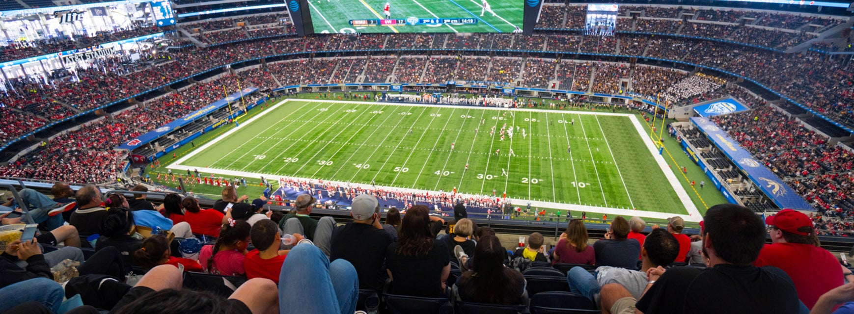 Seat view from Upper Reserved