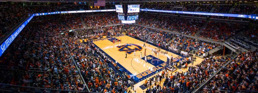 Tennessee Basketball At Auburn Basketball At Auburn Arena