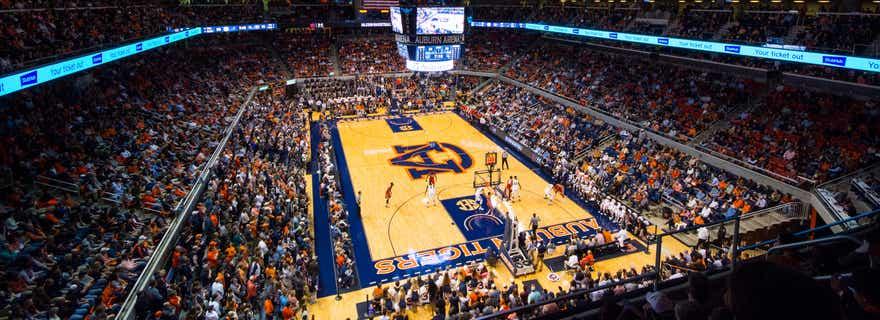 Kentucky Basketball At Auburn Basketball At Auburn Arena