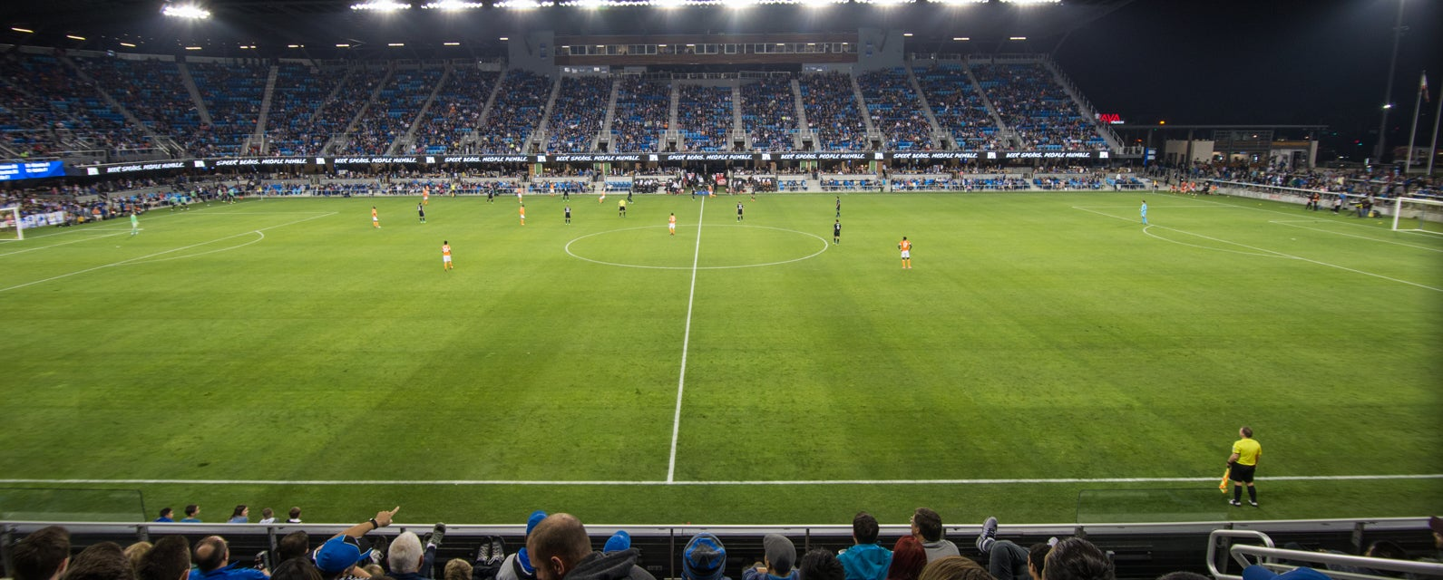 Seat view from Midfield