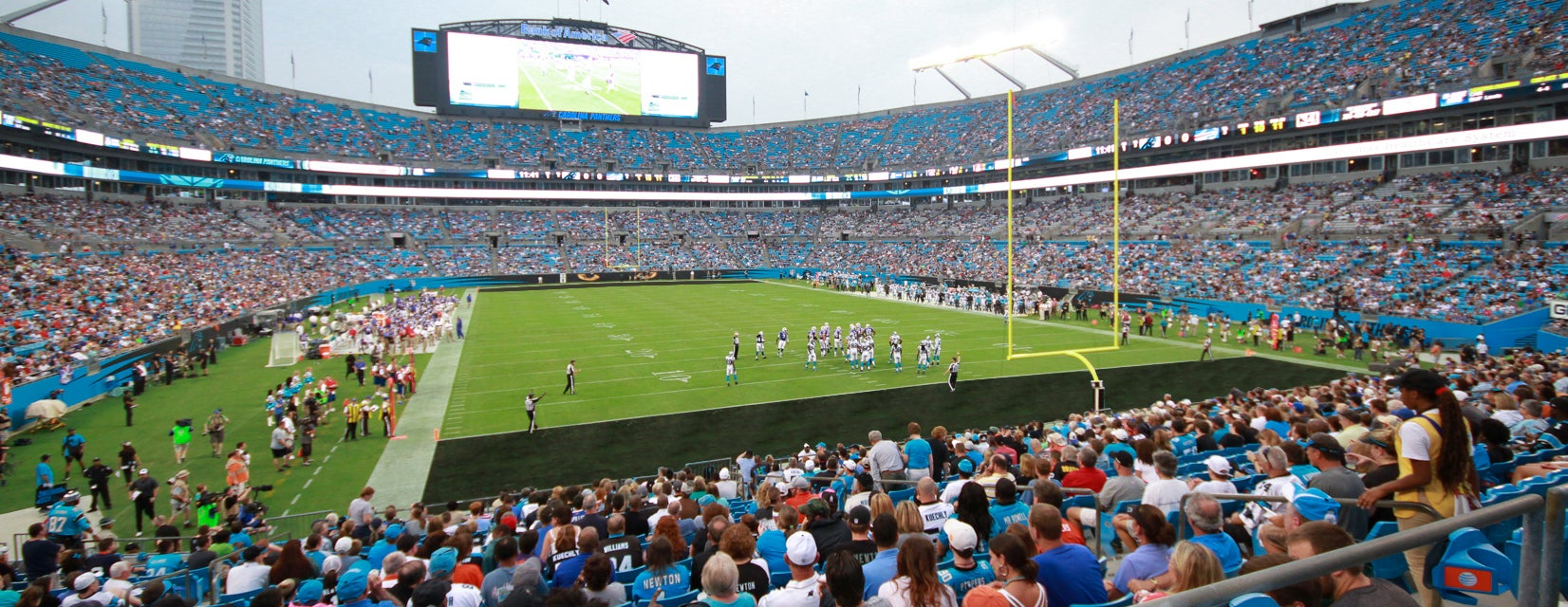 Seat view from Lower End Zone