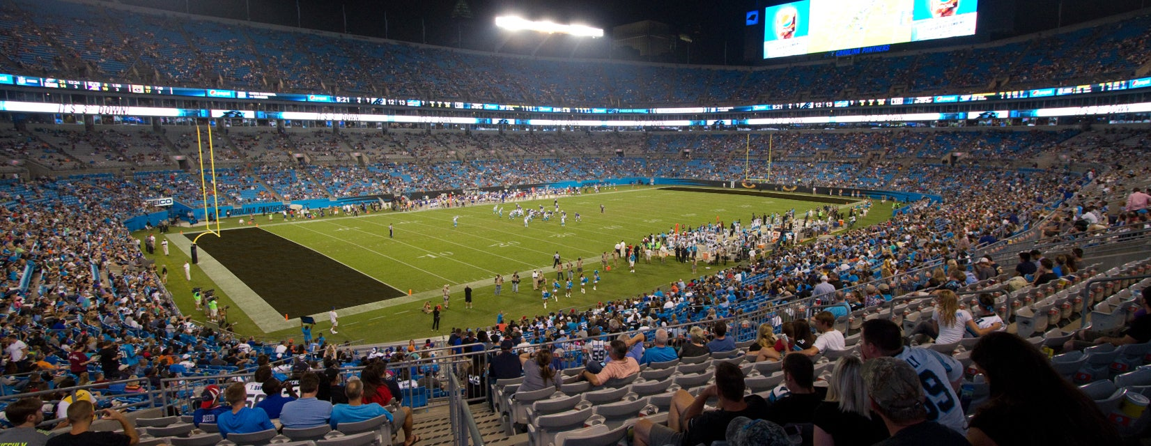 Seat view from Club III