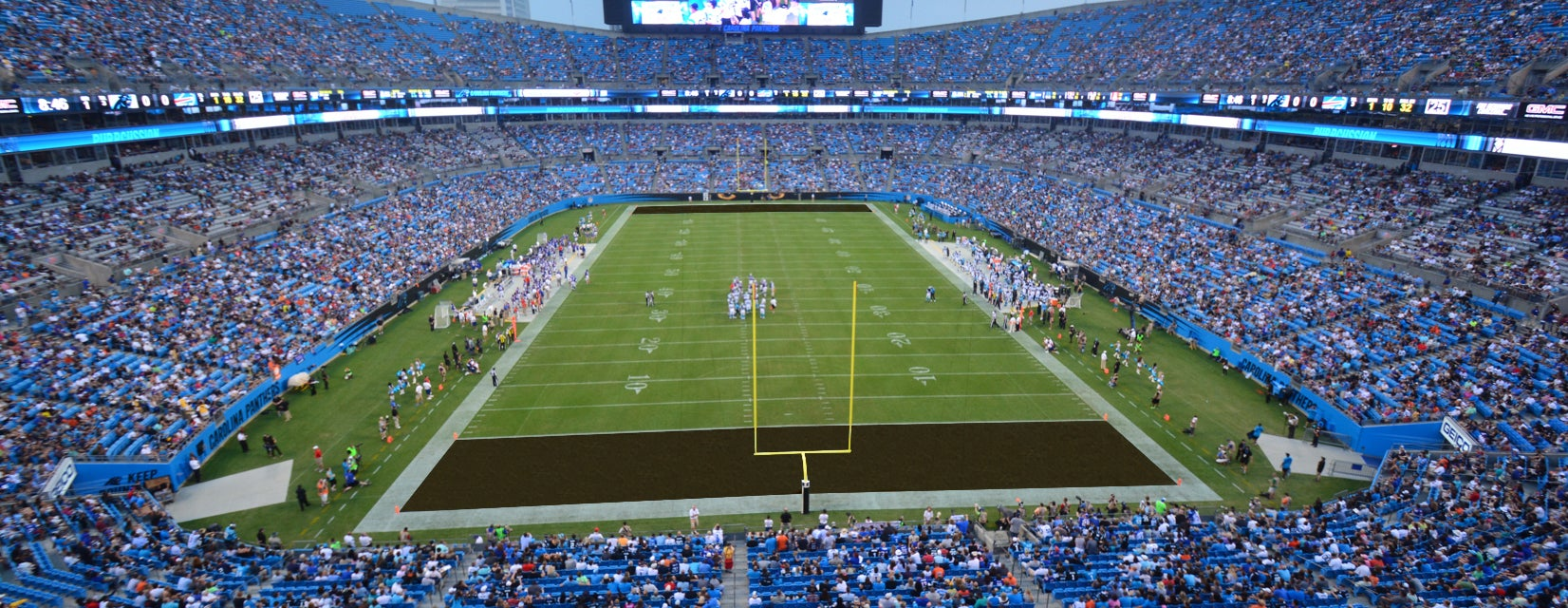 Seat view from Upper End Zone