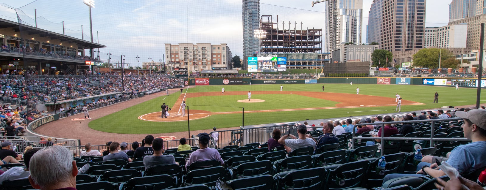 Seat view from Budweiser Home Plate Club