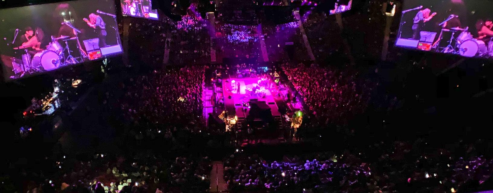 Seat view from Club Desjardins Center
