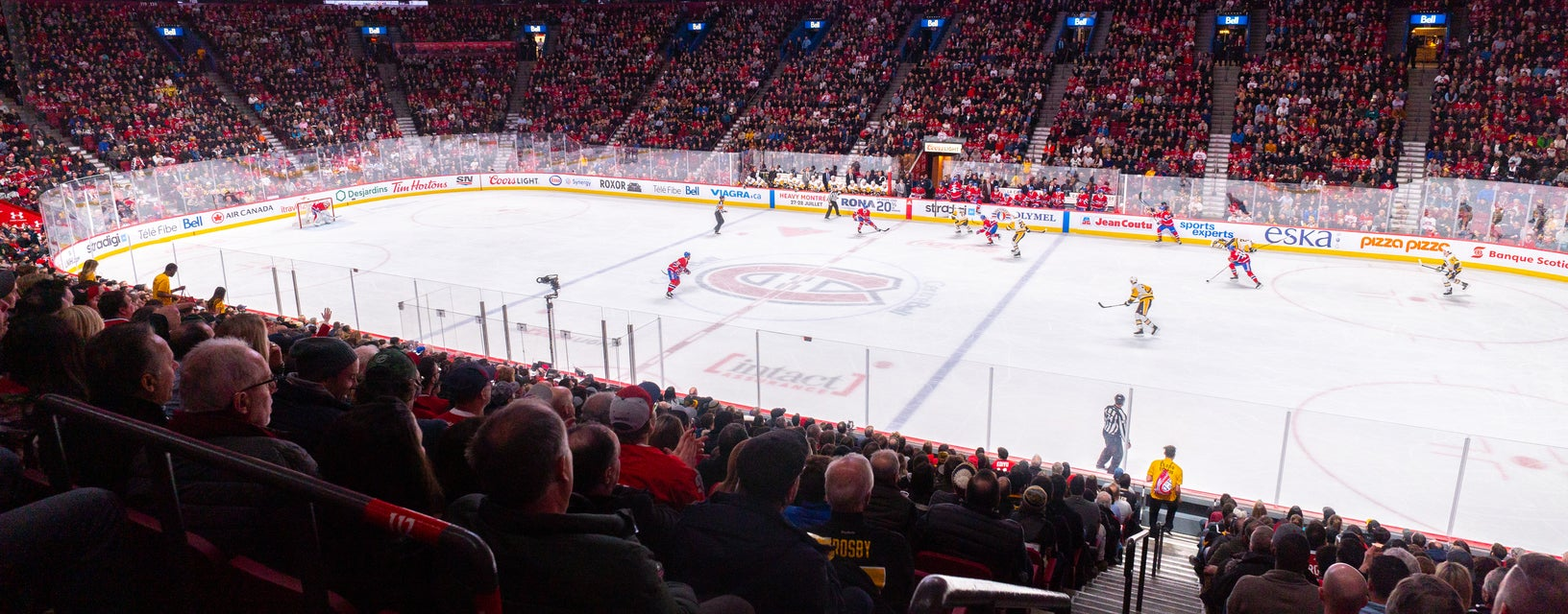 Seat view from Red Center