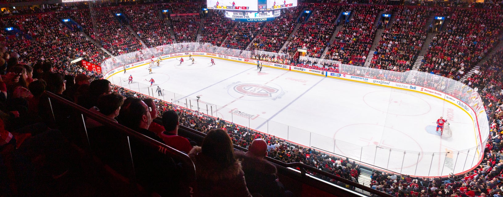 Seat view from Club Desjardins