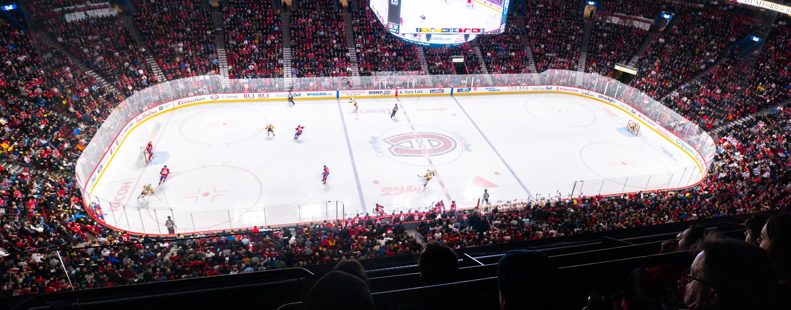 Seat view from Blue Center