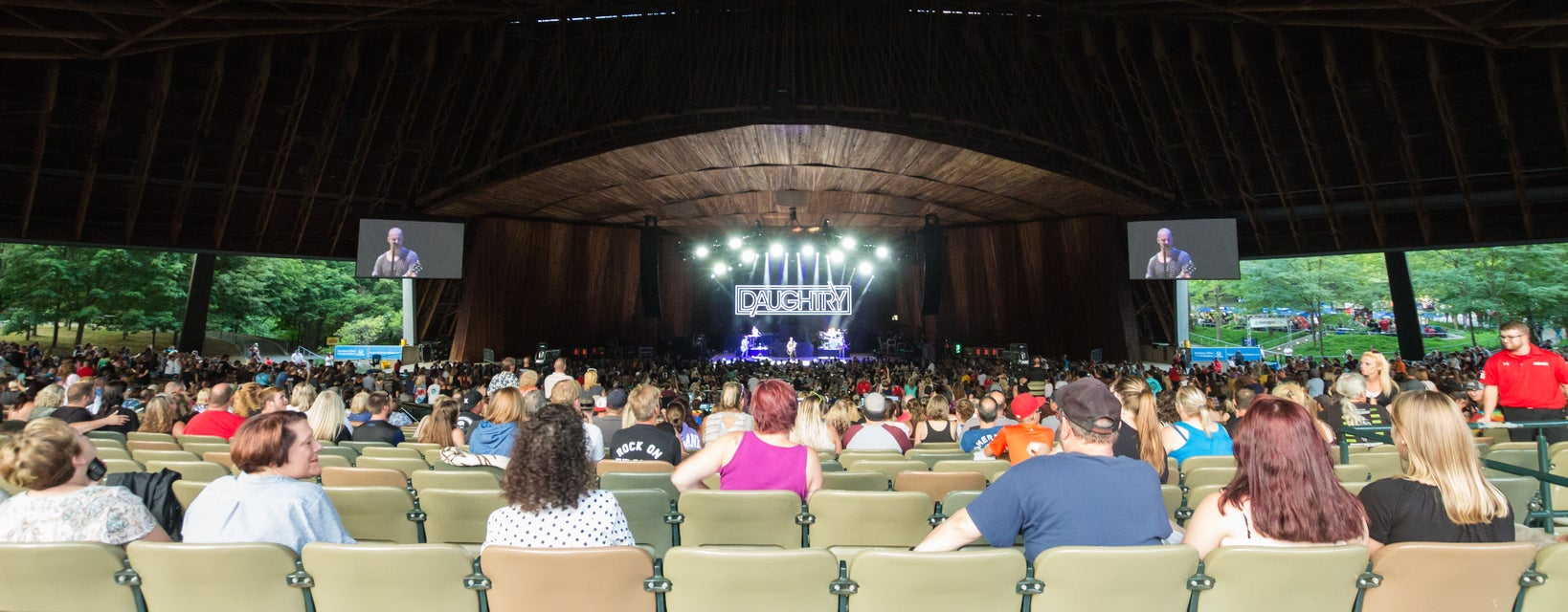 Seat view from Pavilion