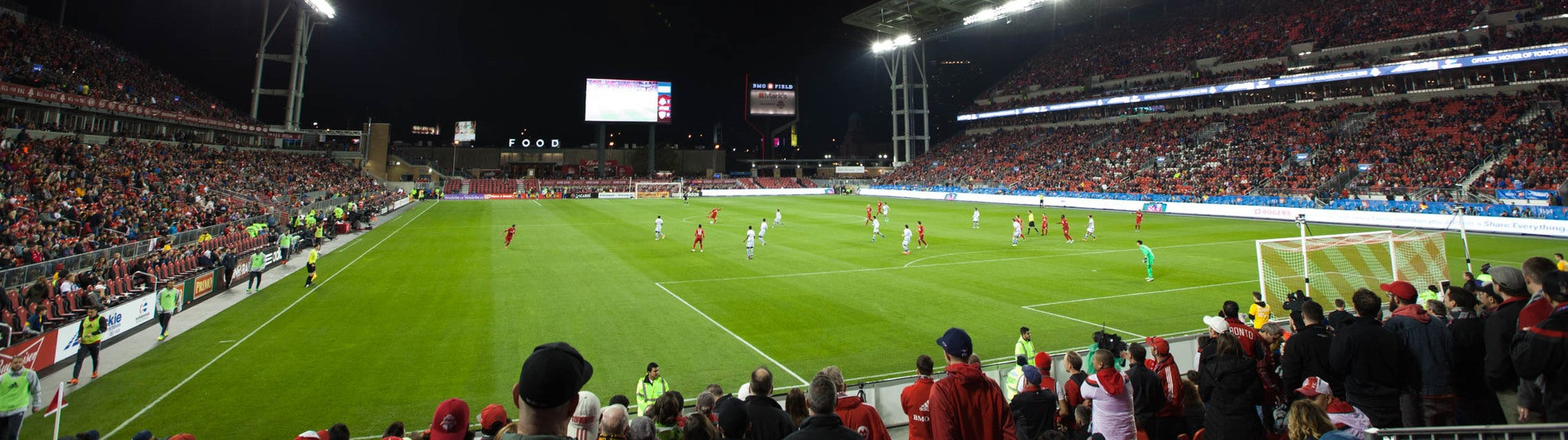 Seat view from Supporter