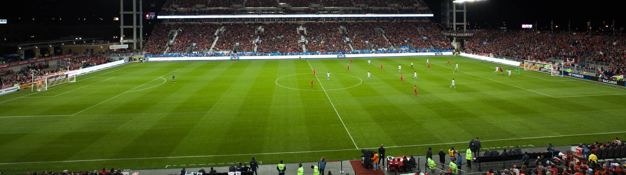 Seat view from Upper Midfield