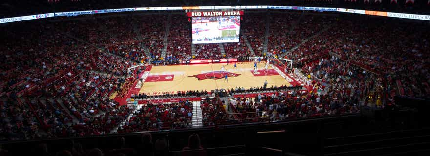 Texas Am Basketball At Arkansas Basketball At Bud Walton