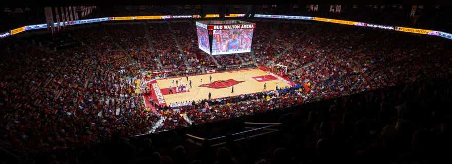 Missouri Basketball At Arkansas Basketball At Bud Walton