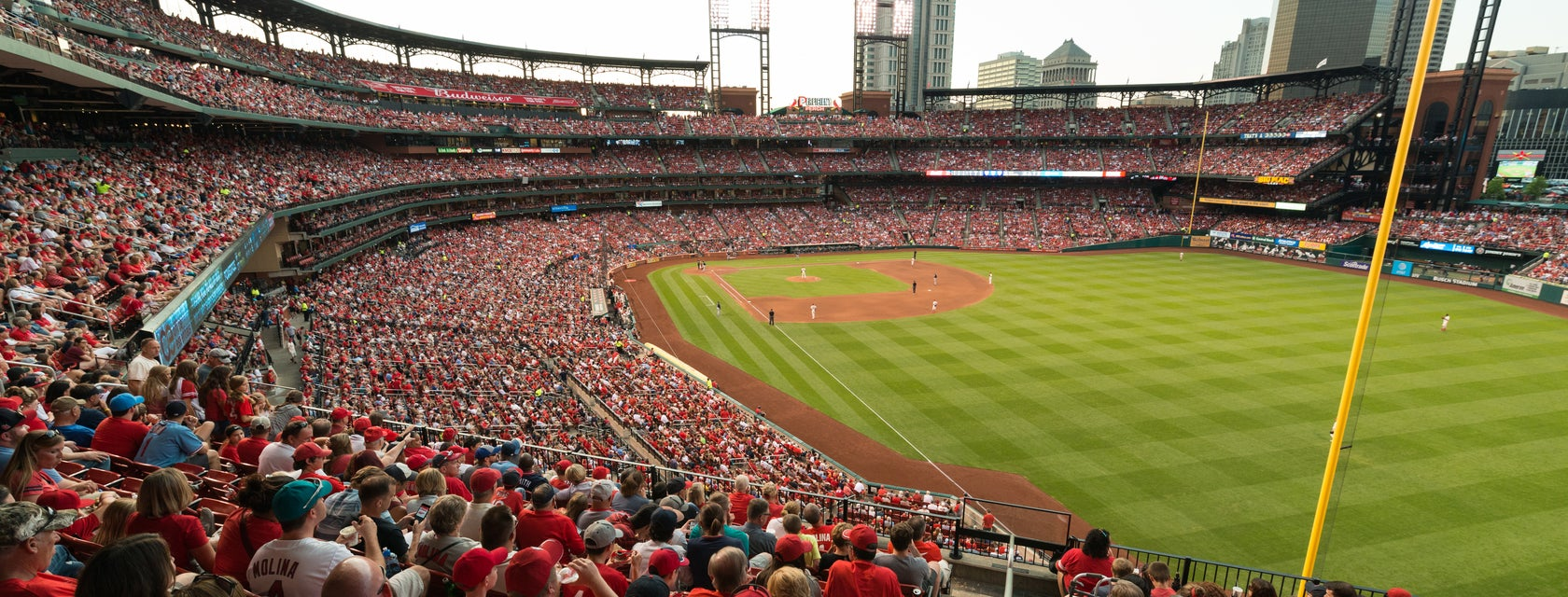 Seat view from Outfield Loge