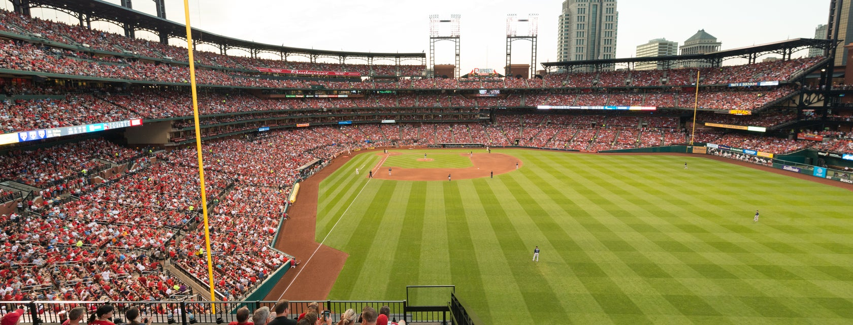 Seat view from Red Jacket Club