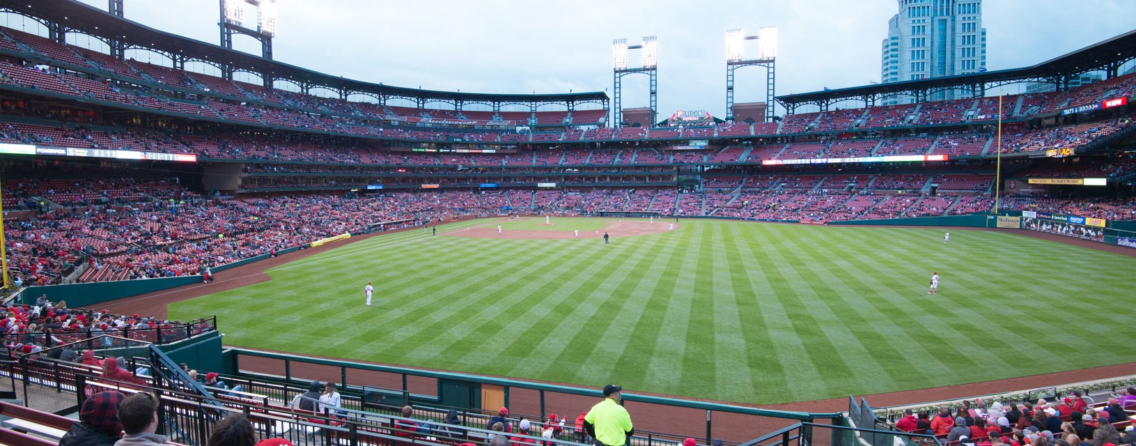 Seat view from Right Field Bleachers