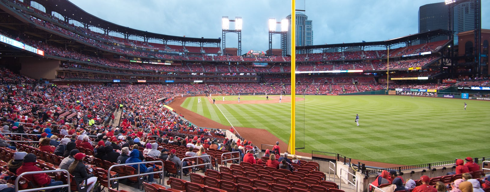 Seat view from Lower Outfield Box