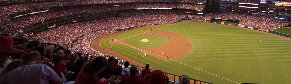 Seat view from First Base Terrace