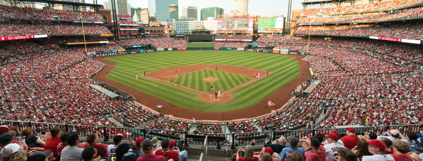 Seat view from Home Redbird Club