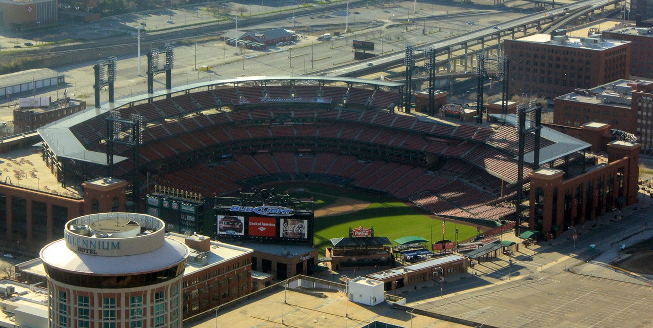 Seat view from Cardinals Club