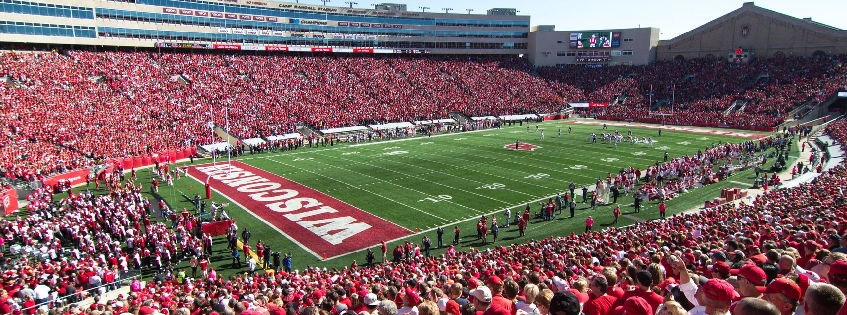 Seat view from Section Five