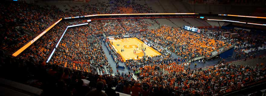 Nc State Basketball At Syracuse Basketball At Carrier Dome