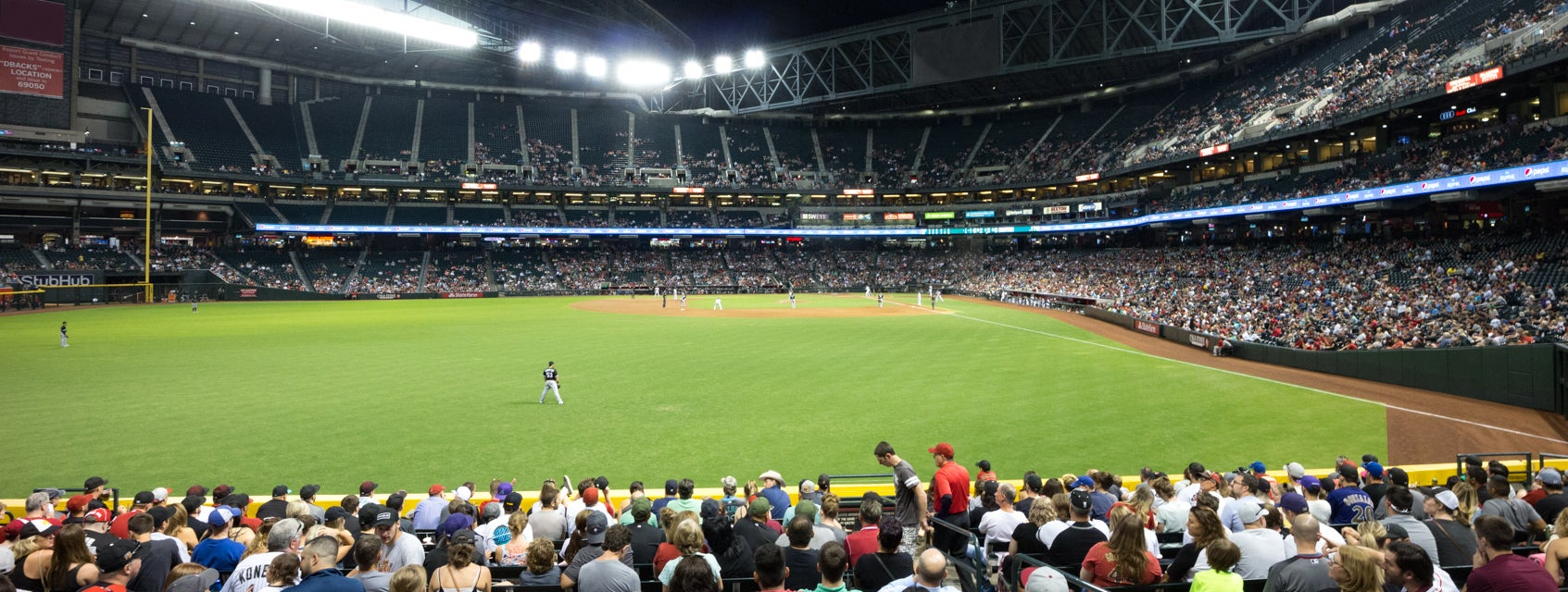 Seat view from Bleacher