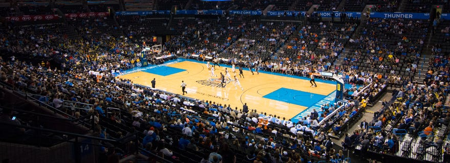 Cleveland Cavaliers At Oklahoma City Thunder At Chesapeake Energy