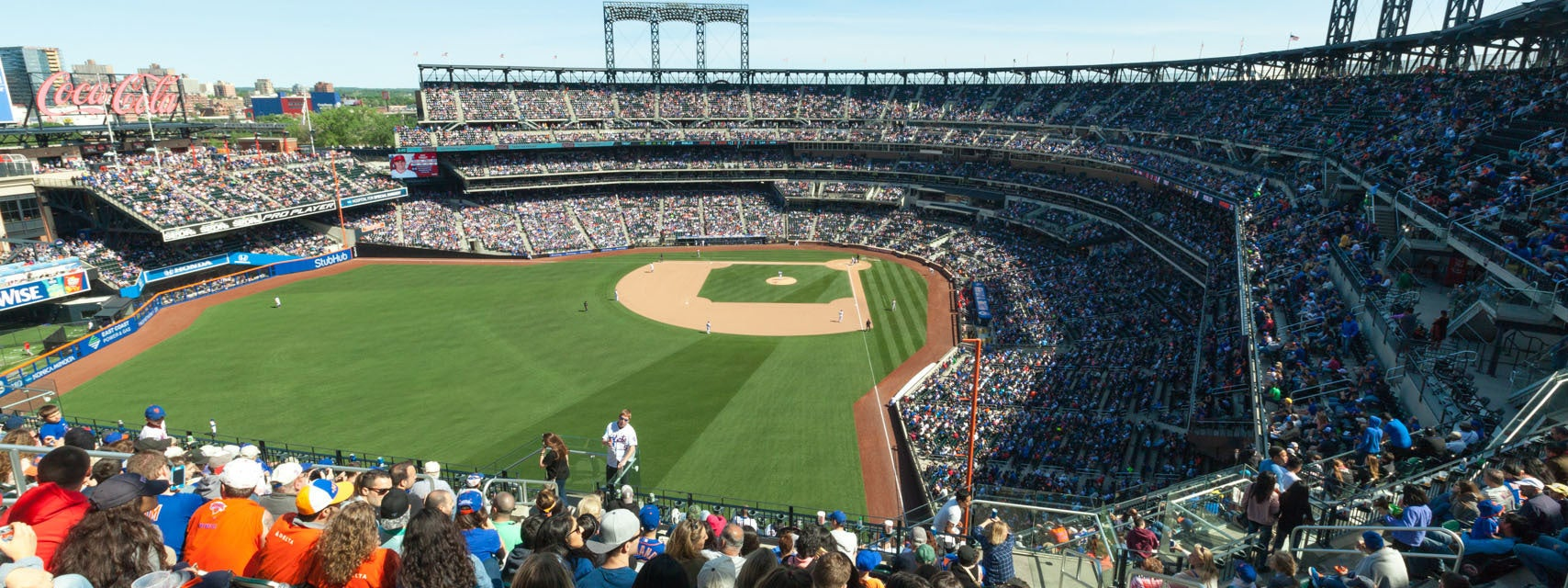 Seat view from Promenade Outfield