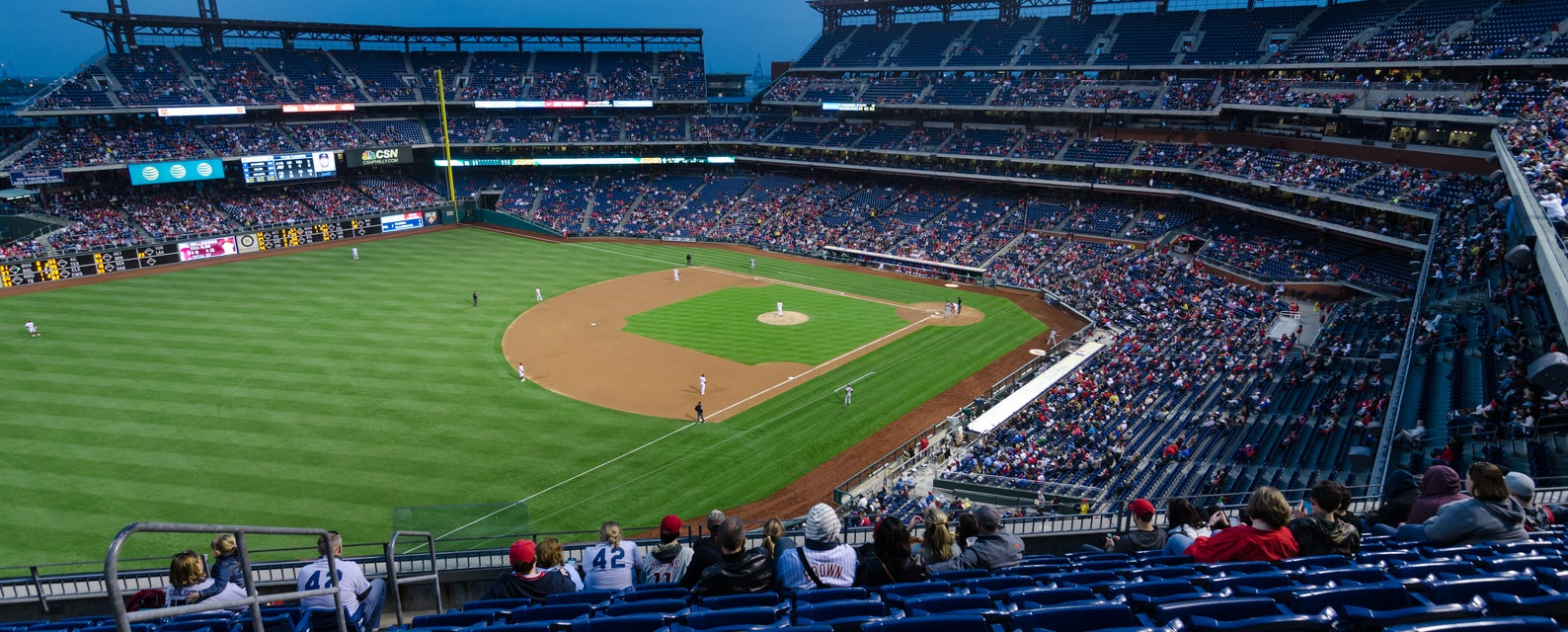 Seat view from Terrace - Outfield