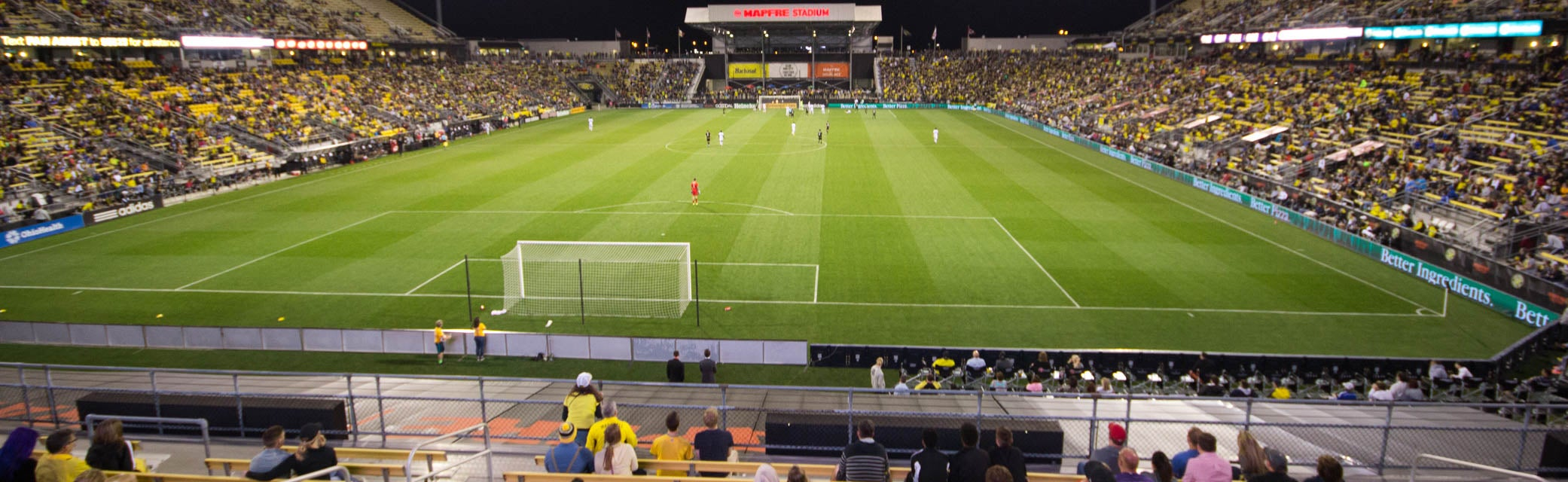 Seat view from South Endline