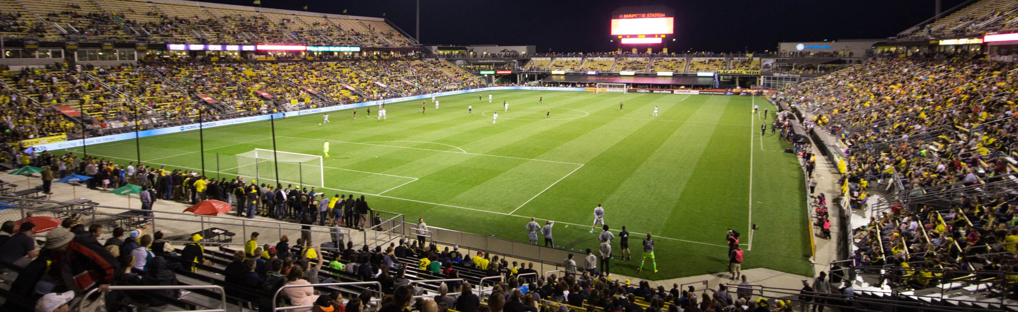 Seat view from North Endline