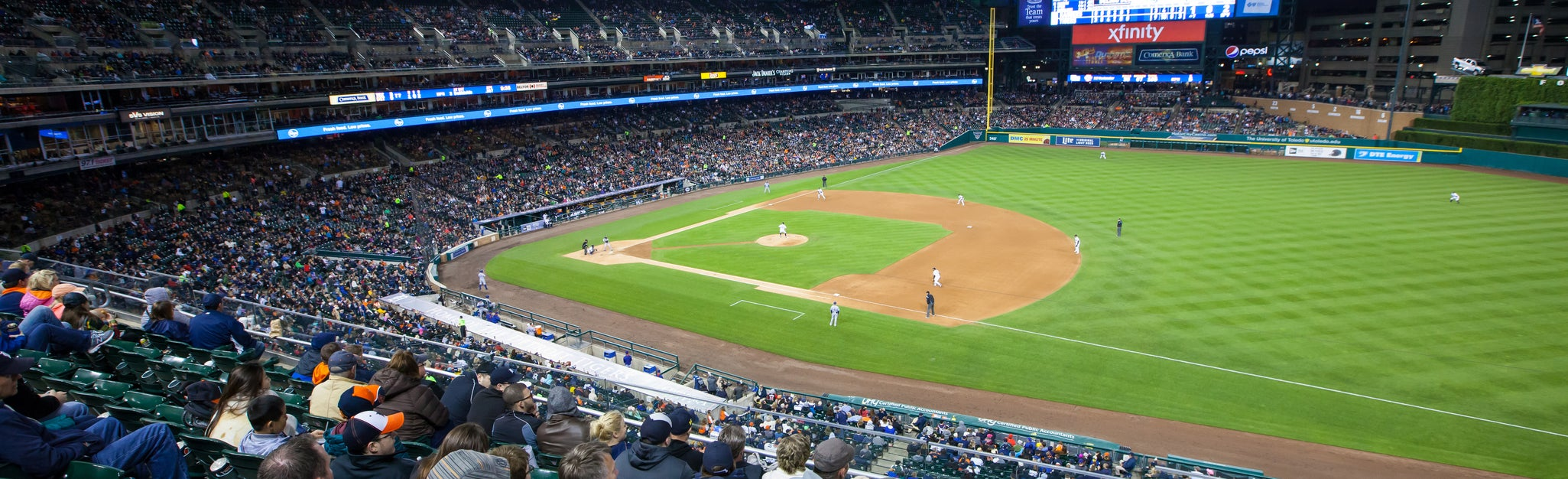 Seat view from Upper Box Right Field