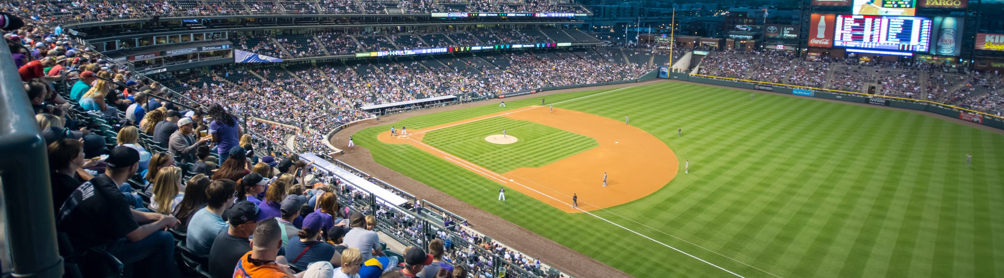 Seat view from Lower Reserved Outfield