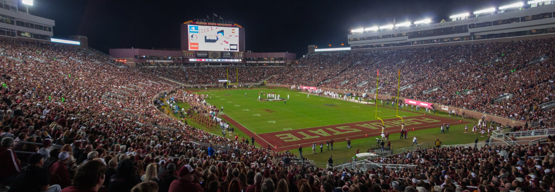 Seat view from Lower South End Zone
