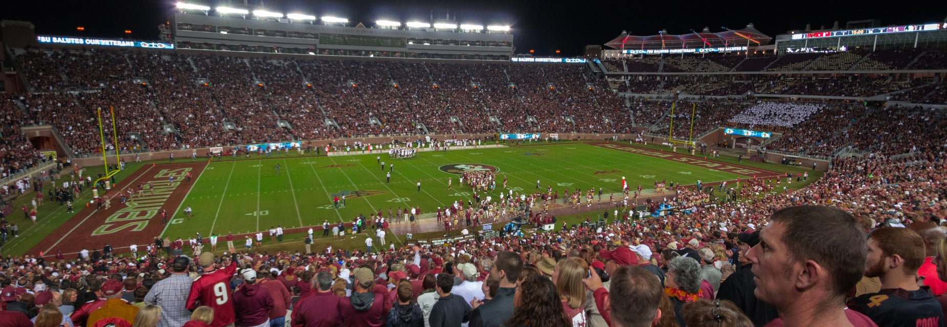 Seat view from West Stands