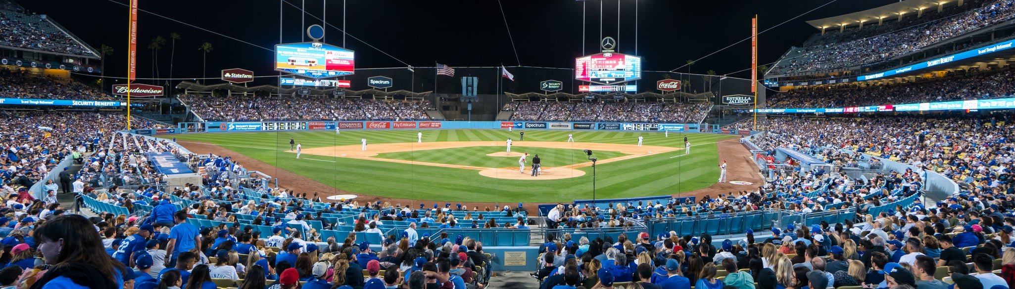 Seat view from Field Box MVP