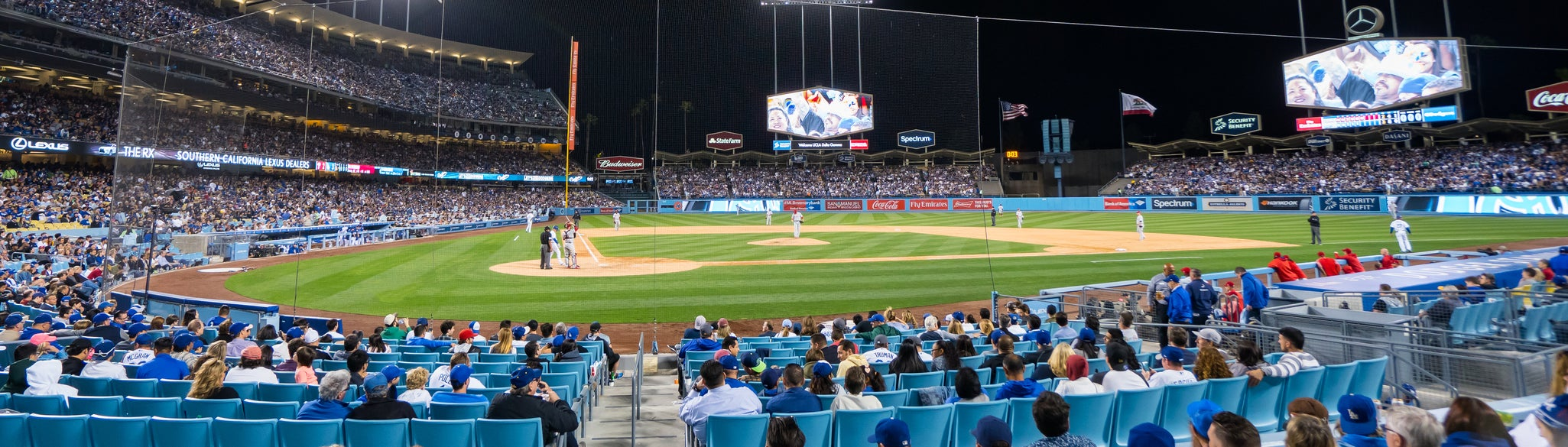 Seat view from Dugout Club