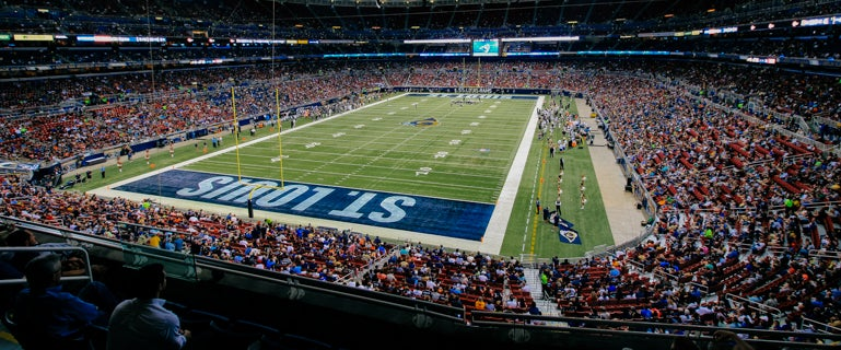 Seat view from Club Corner