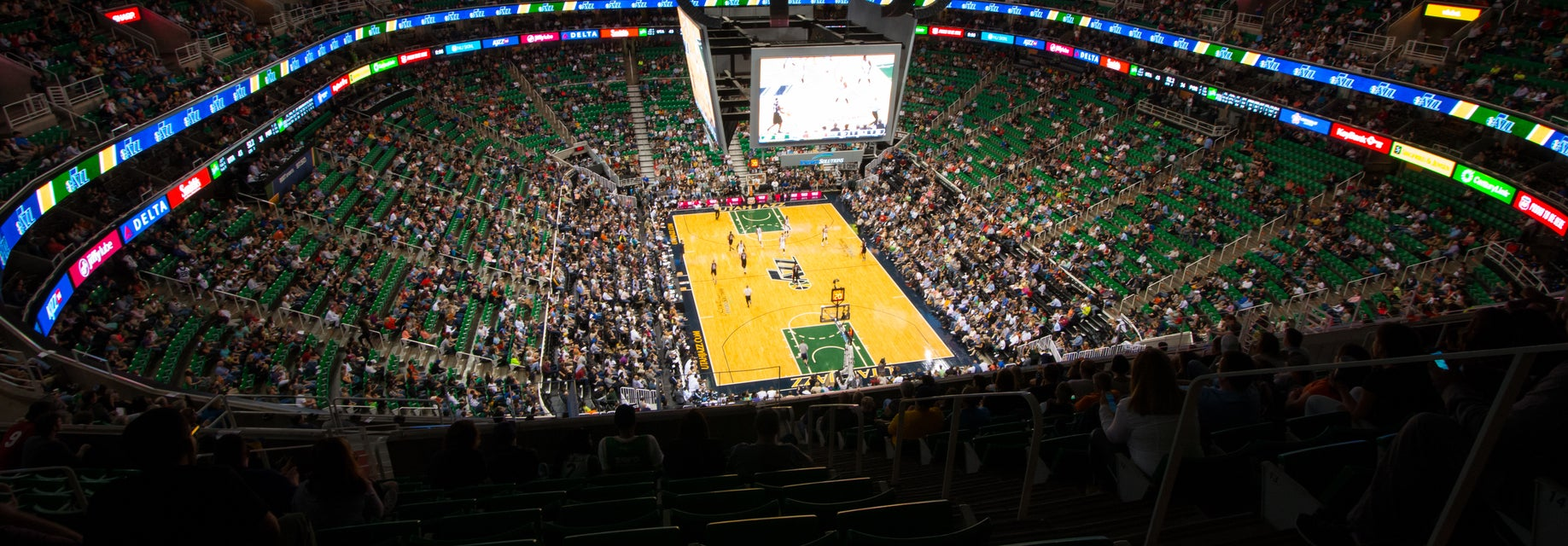 Seat view from Upper Bowl Baseline