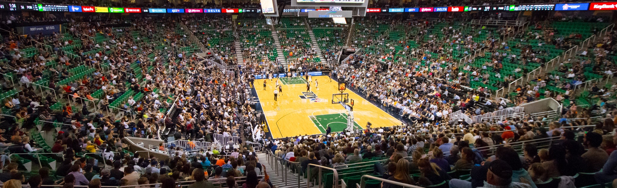 Seat view from Lower Bowl Baseline
