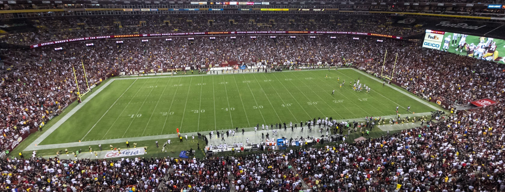 Seat view from Club Sideline