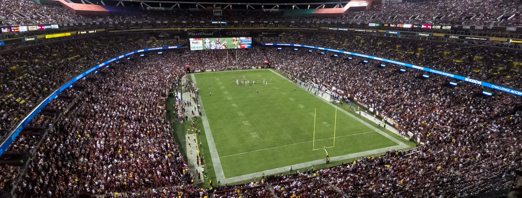 Seat view from Club Endzone
