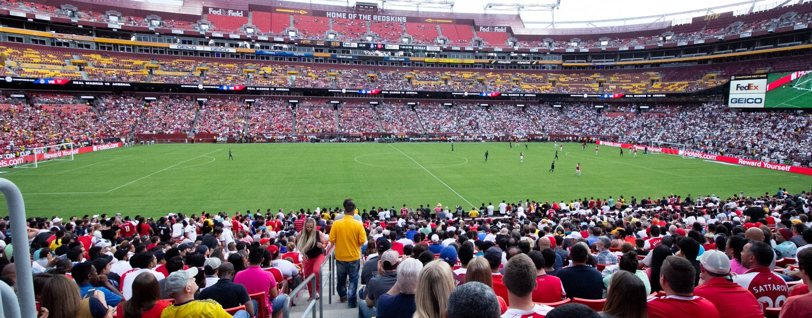 Seat view from Lower Midfield