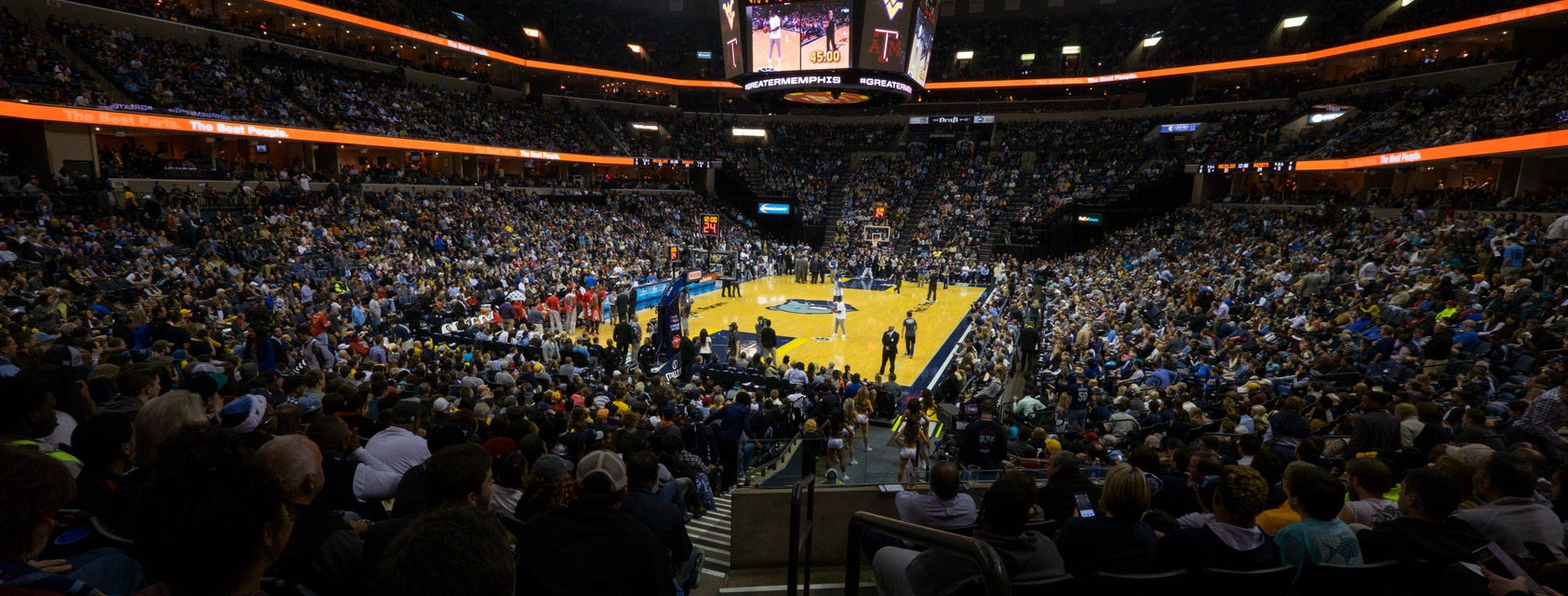 Seat view from Plaza Baseline